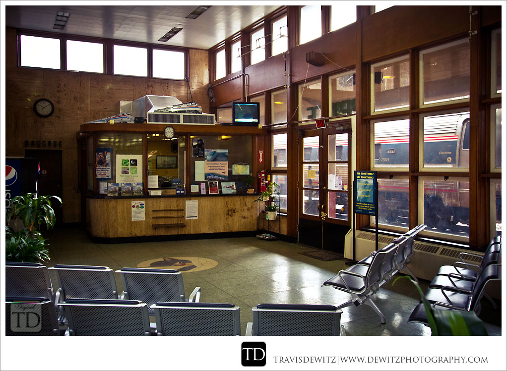 Prince Amtrak Station Ticket Counter