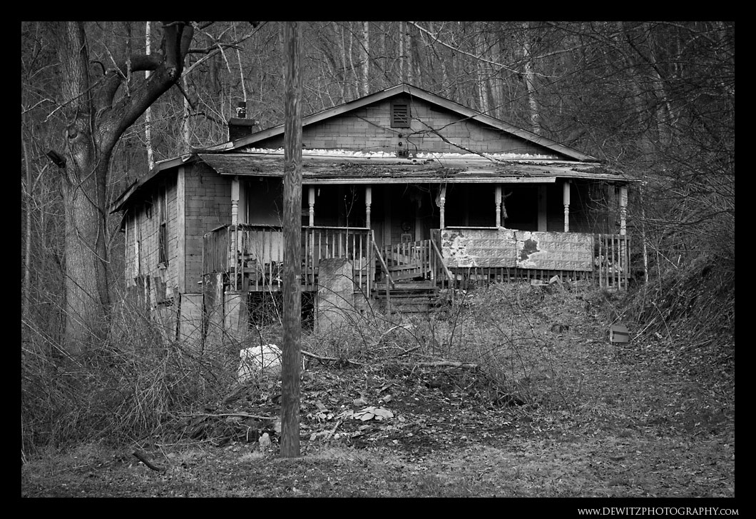 Abandoned Home Near Matewan