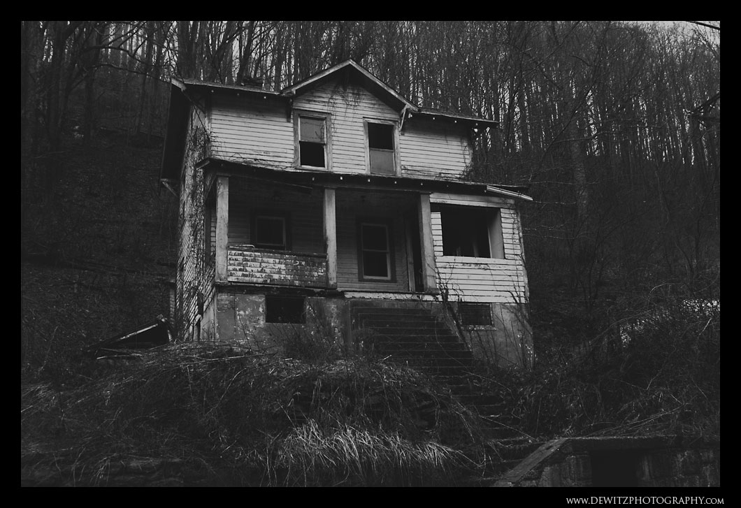 Abandoned Home in McDowell County