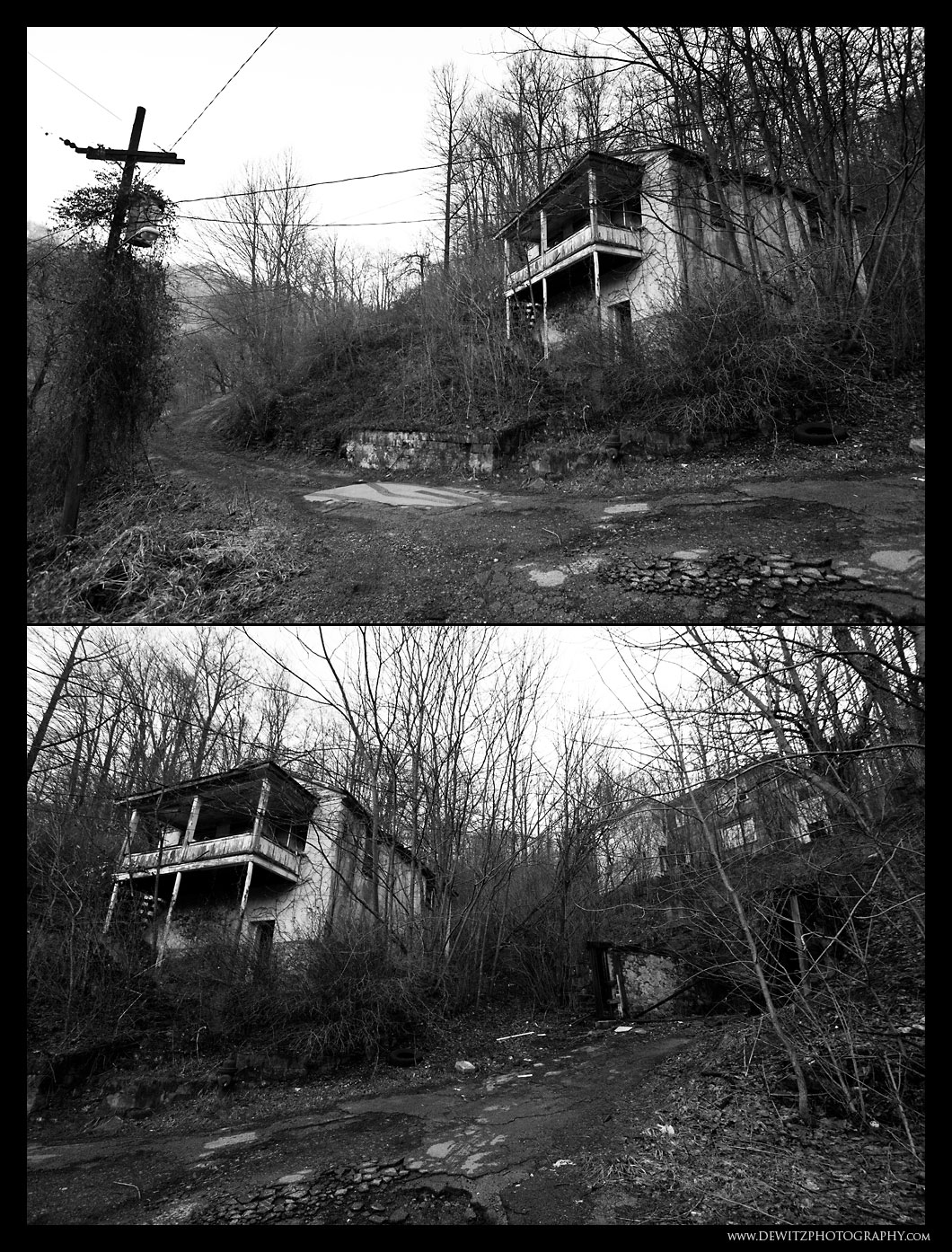 Abandoned House in Keystone West Virginia