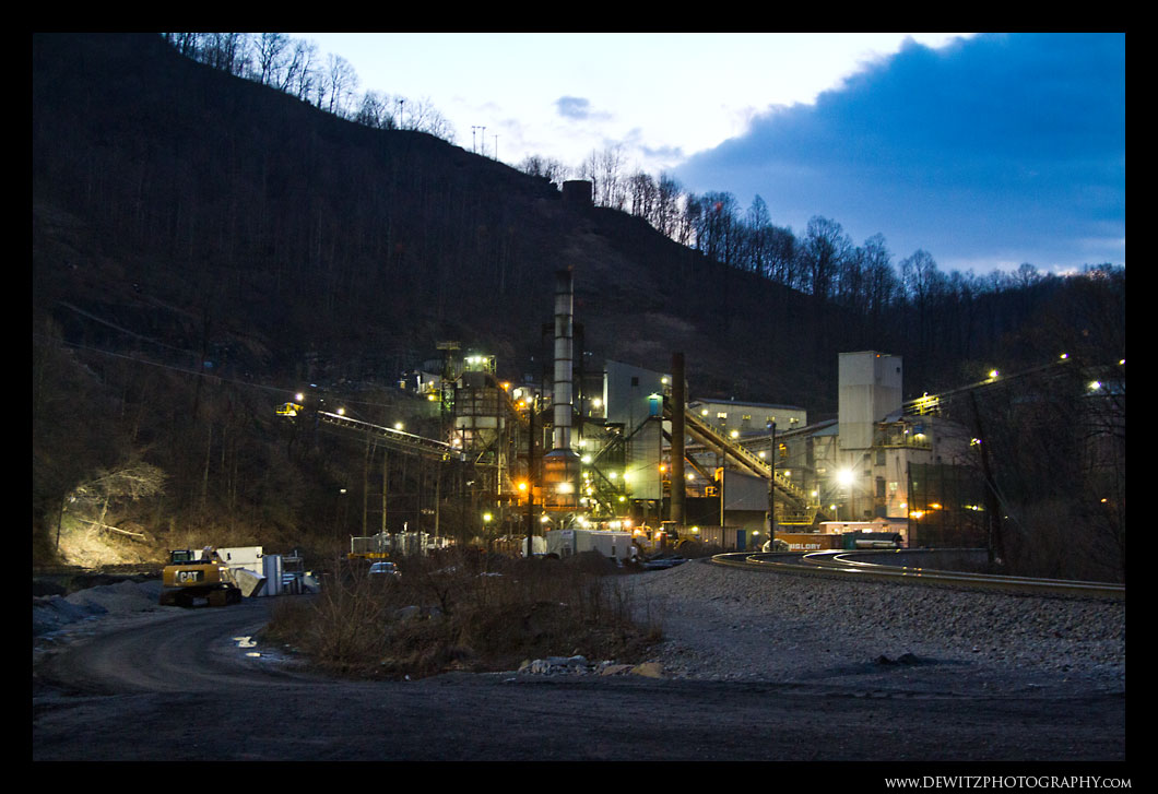 Bluestone Coal Mine in Keystone West Virginia