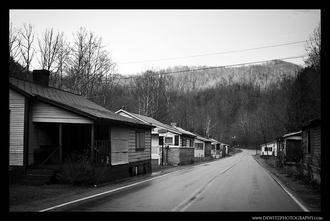 Coal House Row in Wilcoe WV