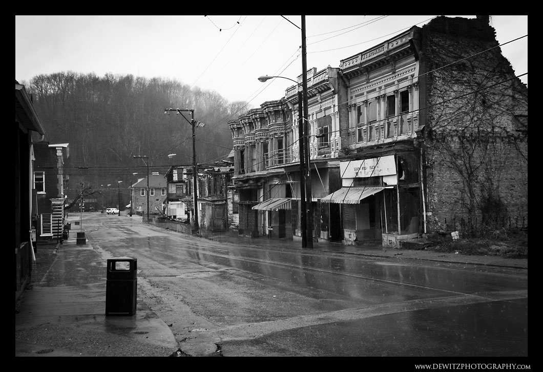 Downtown Pocohontas West Virginia