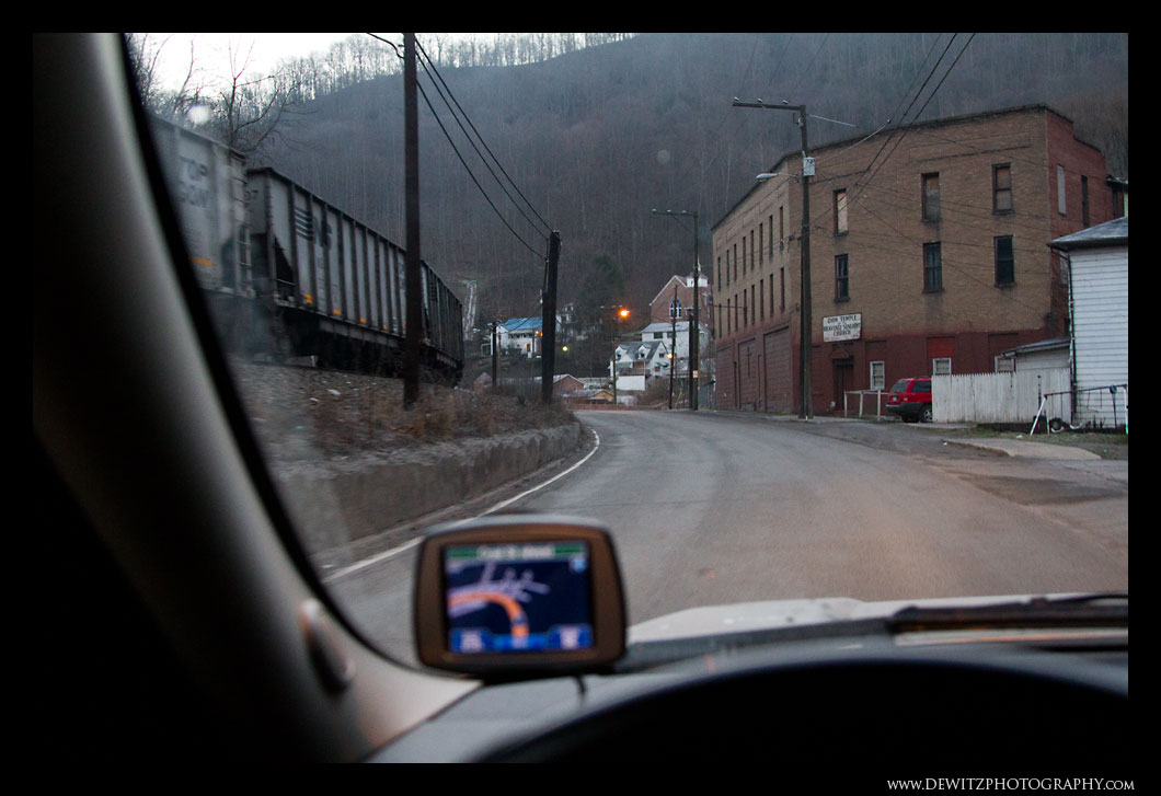 Driving Through Keystone WV