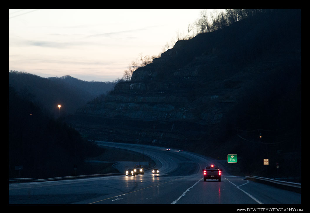 Leaving West Virginia