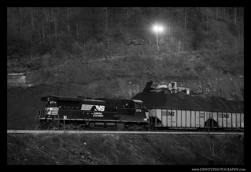 Loading Coal at TECO Mine in Hurley, Virginia