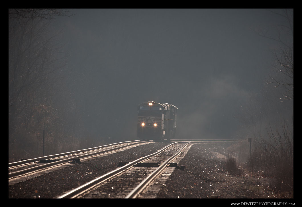 NS Helper Set Emerging From the Fog in Elkhorn WV