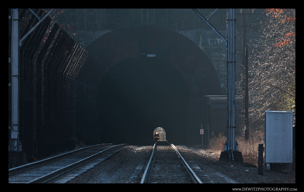 NS Train in Elkhorn Tunnel