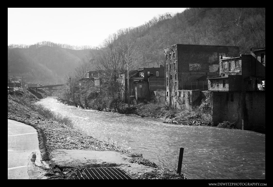 The River That Flows Behind Iaeger WV
