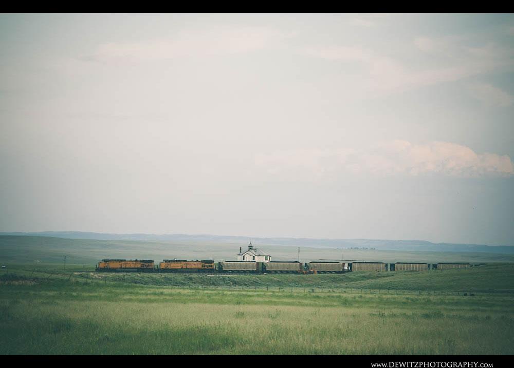104UP Coal Train at Shawnee WY