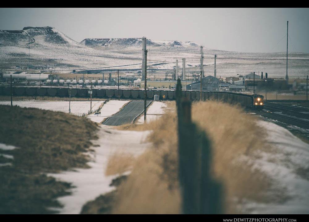 132UP Coal Train Heads Towards Reno Junction