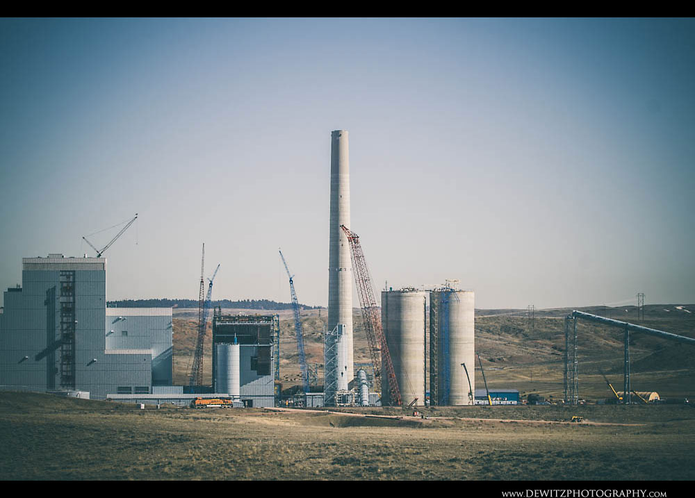 140Cranes Work on New Power Plant in Wyoming