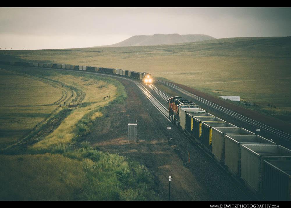 149Wet Coal Train Meet in the Rain