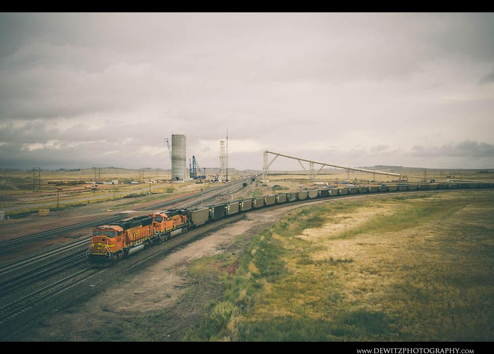153BNSF Train at Reno Junction
