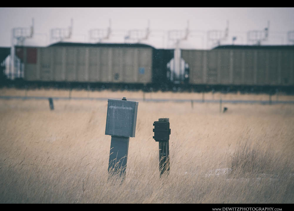 168Power Boxes Sit Across the Vacant Hilight Trailer Park