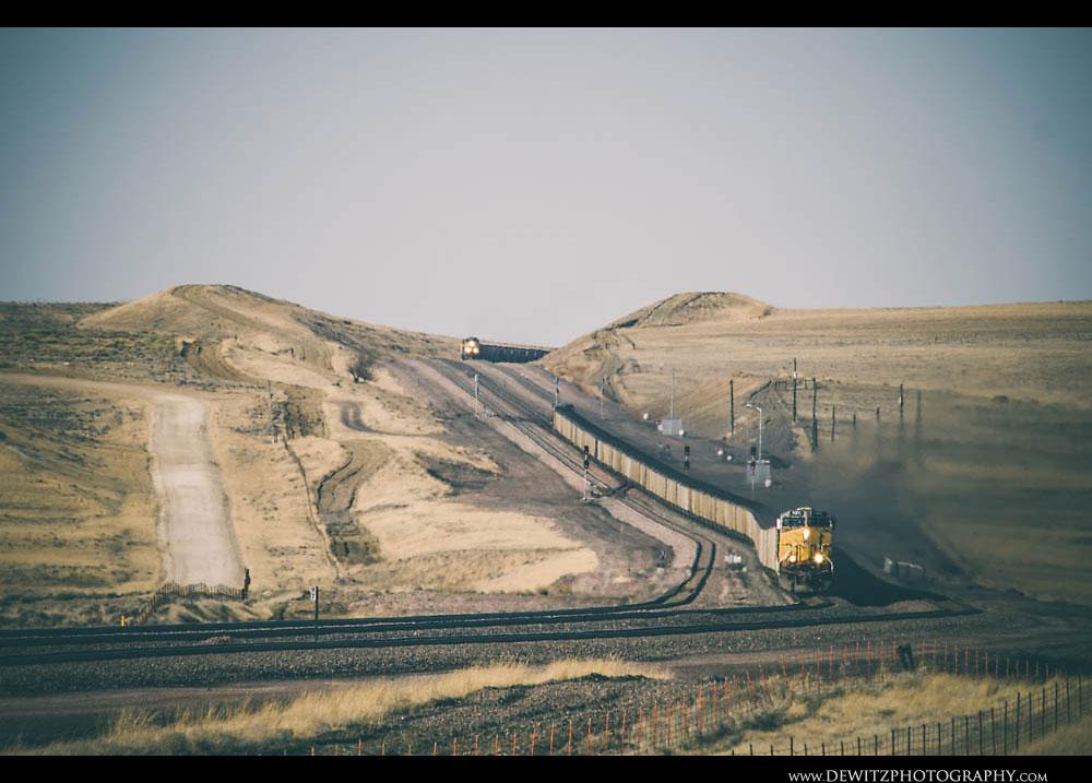 191Incredible Coal Train View Near Bill