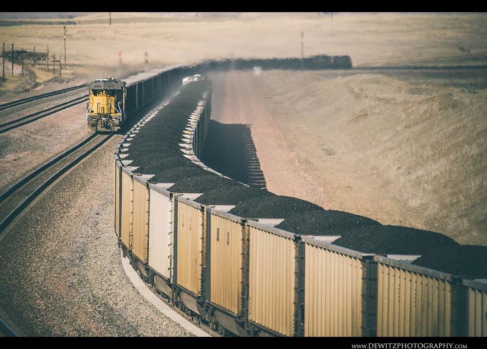 197Union Pacific Coal Trains on Logan Hill