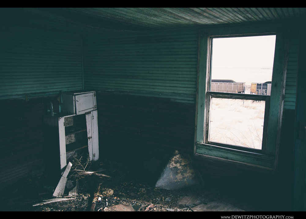 209Endless Coal Cars Pound the Rails Outside This Abandoned House