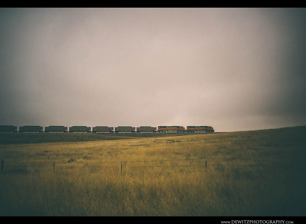212Powder River Basin Coal Train
