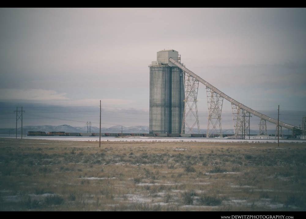 215Black Thunder West Coal Loadout Stands Tall in the Powder River Basin