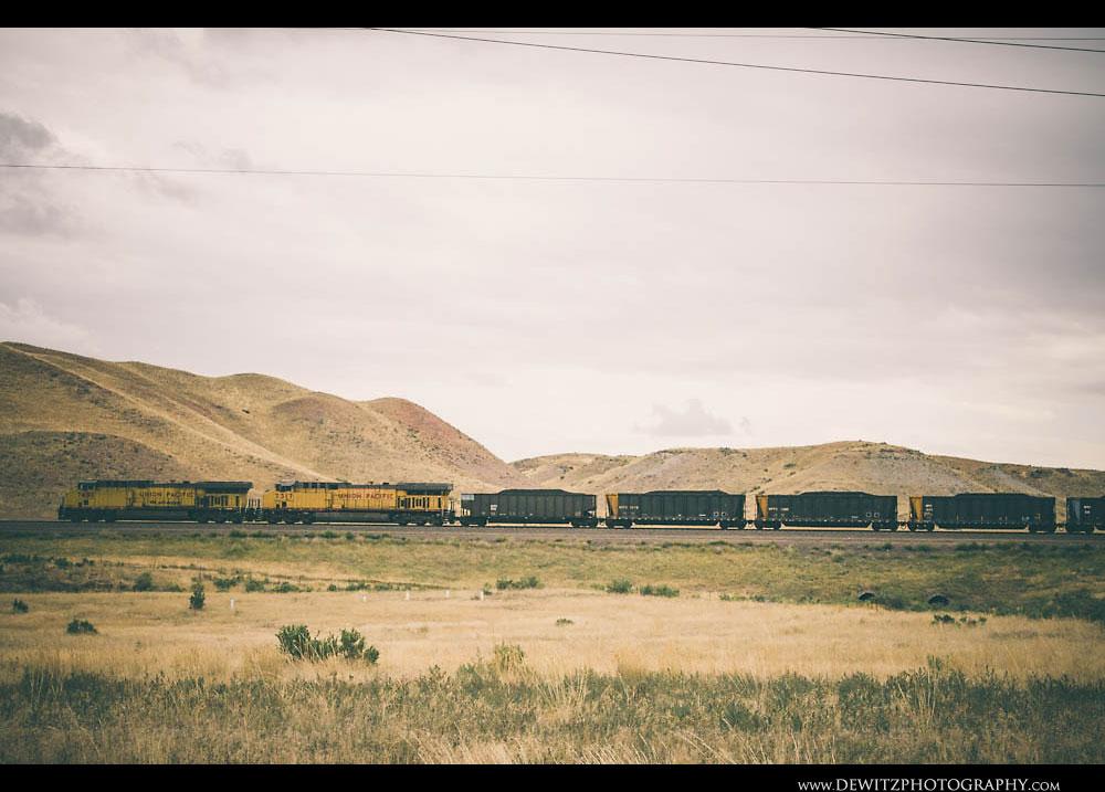 224UP Coal Train Side Profile
