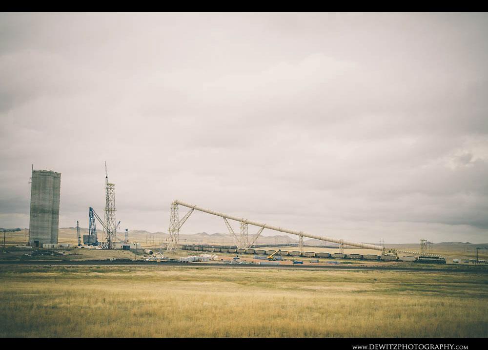 237BNSF Under Conveyor Under Construction