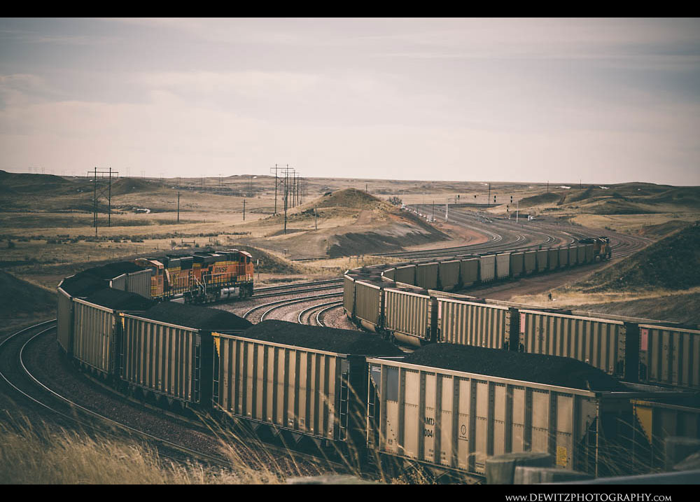 245Coal Trains at Converse Junction