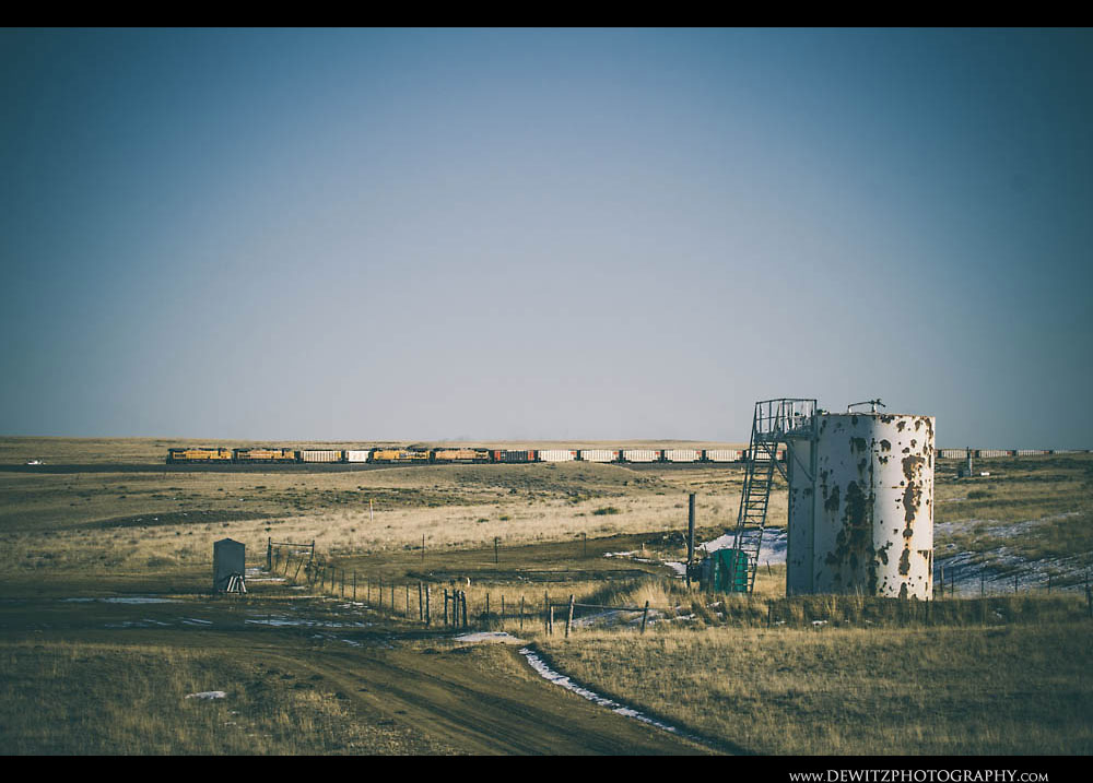 283Tanks and Trains Near Bill Wyoming
