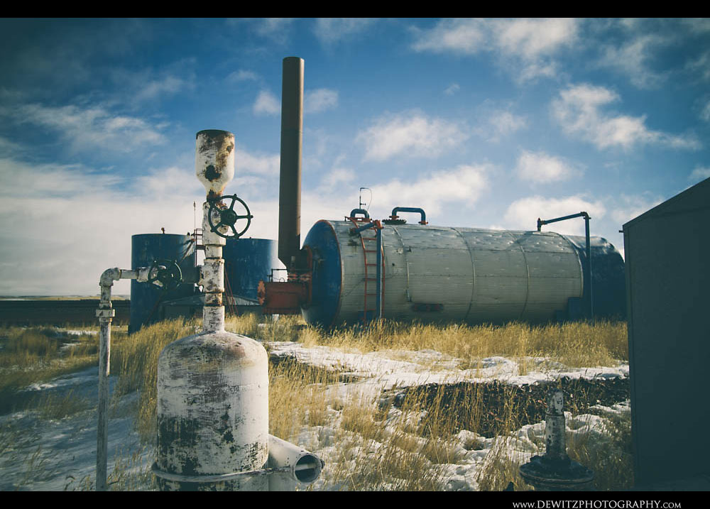 294Abandoned Industrial Oil or Gas Facility