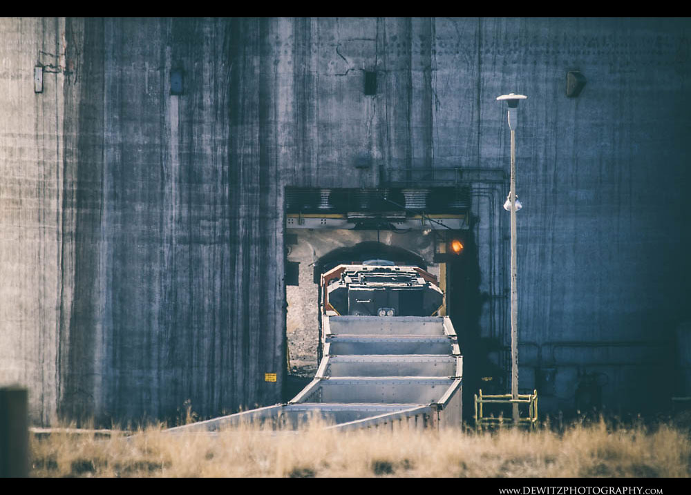 301BNSF Train Under Cordero Coal Loadout