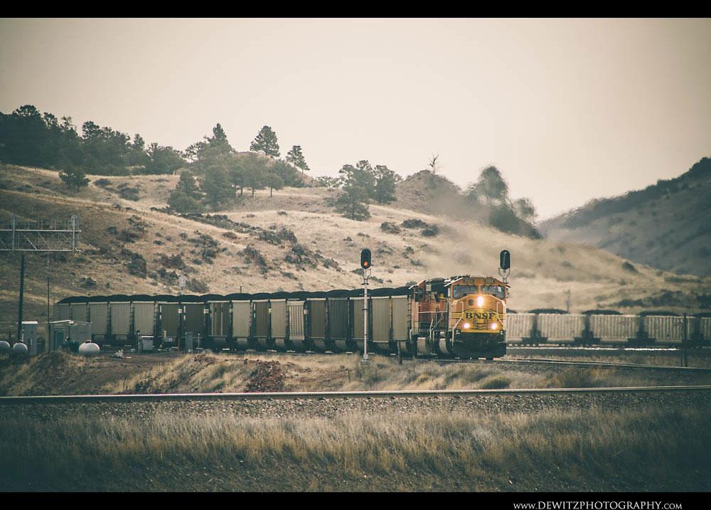 336Coal Train at Nacco Junction