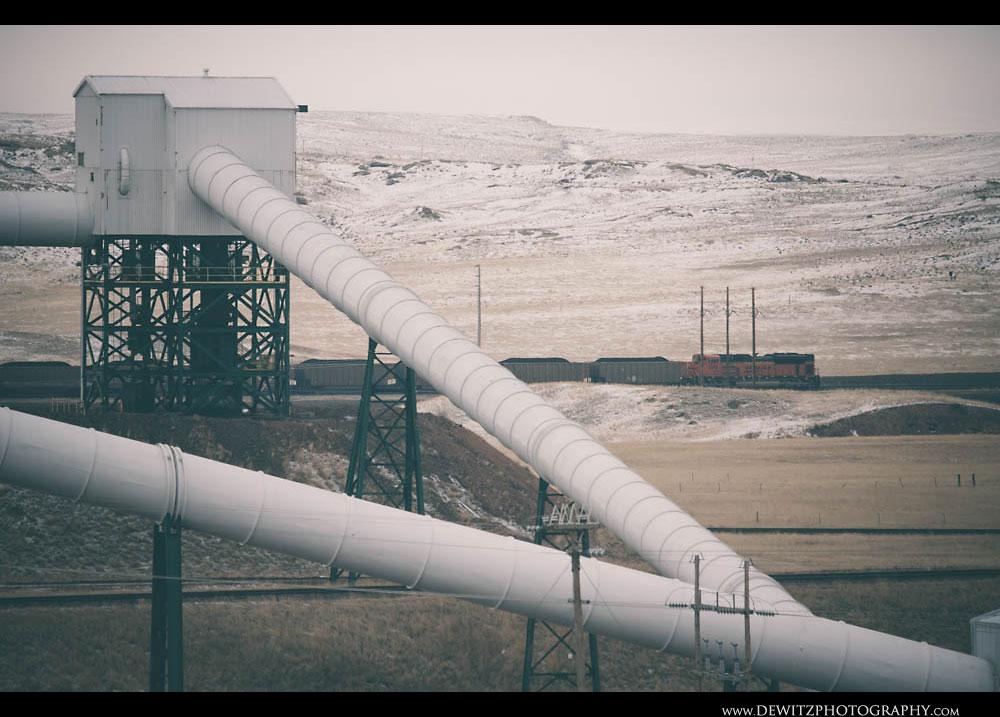 340Cordero Mine White Tube Conveyor System