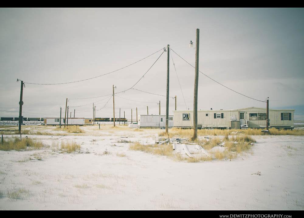 348Union Pacific Hauls Coal Past Bill Trailer Court
