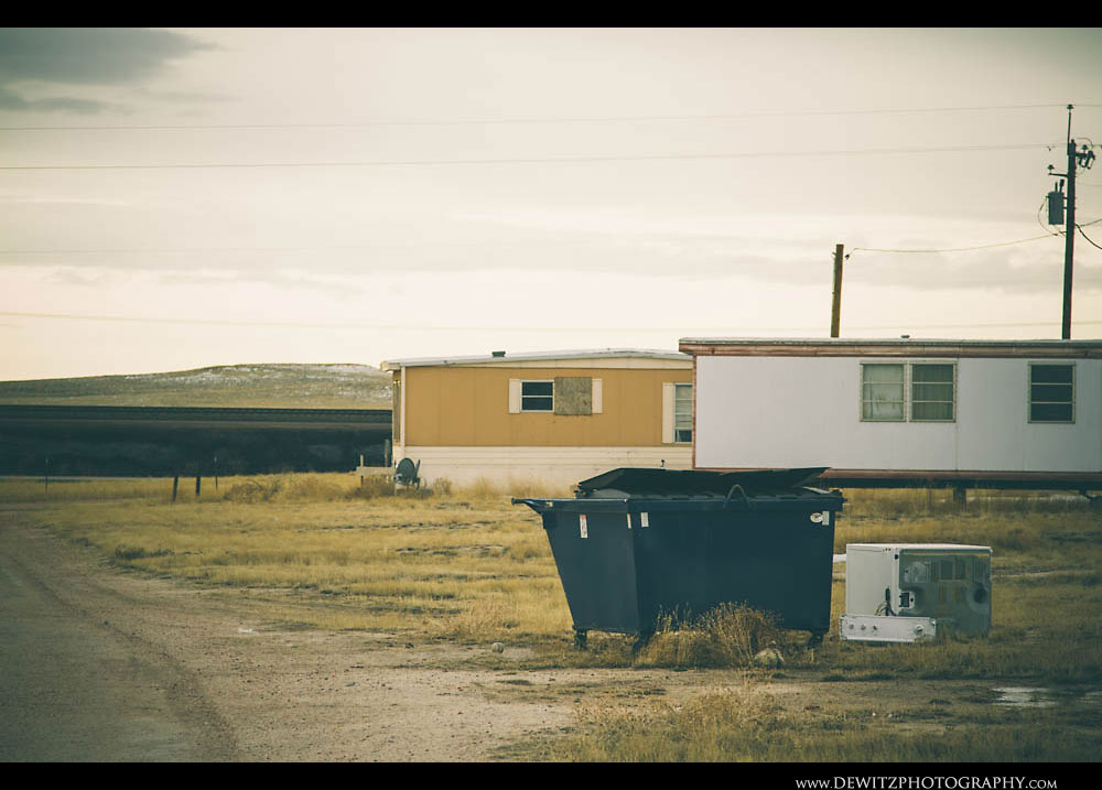 350Trailer Houses and Dumpsters