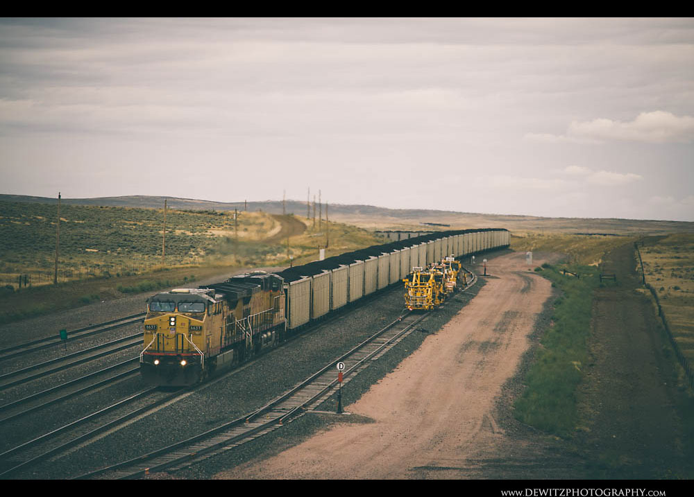 46Union Pacific Train and MOW Equipment