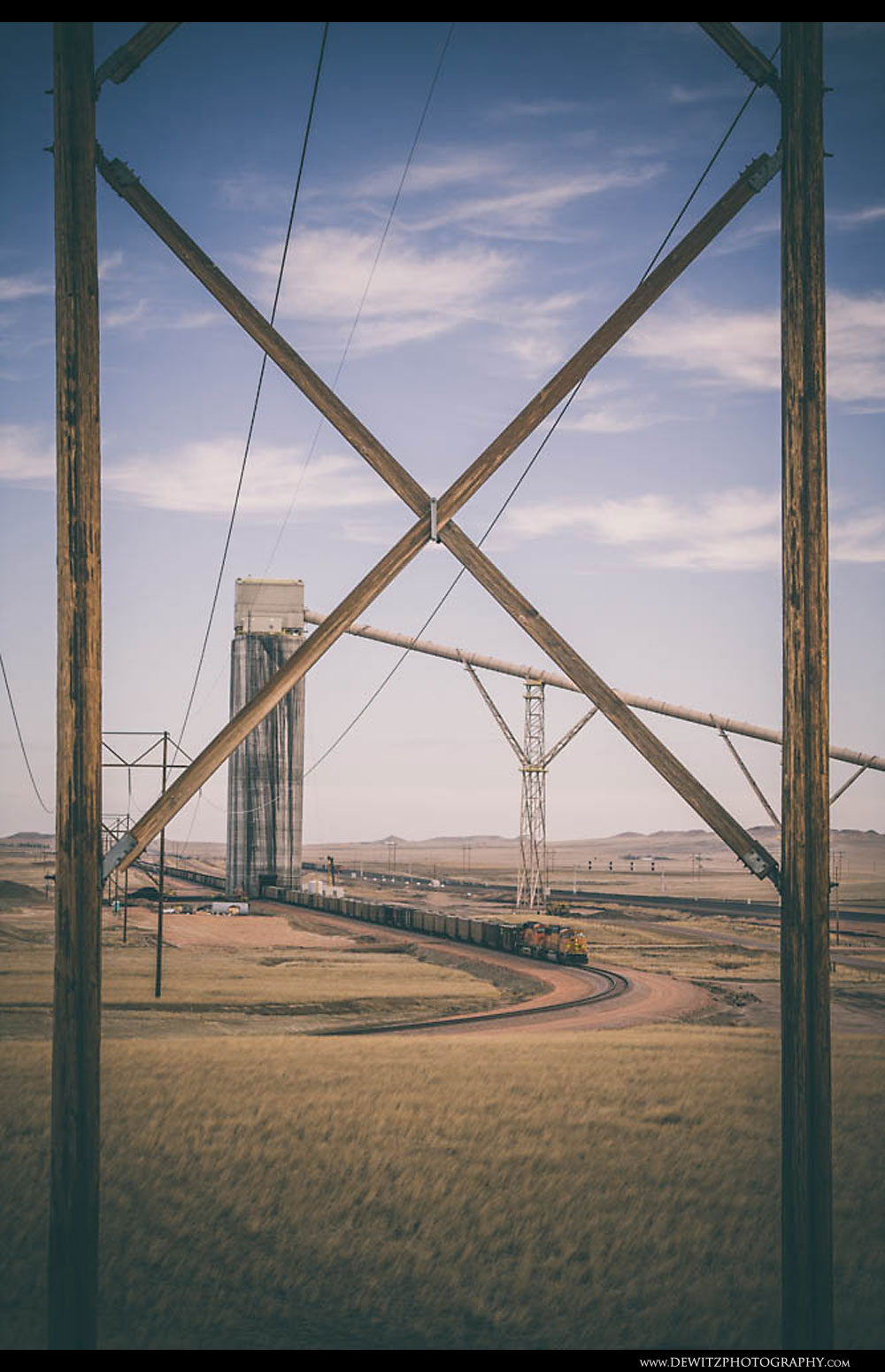 52Coal Silos and Power Lines