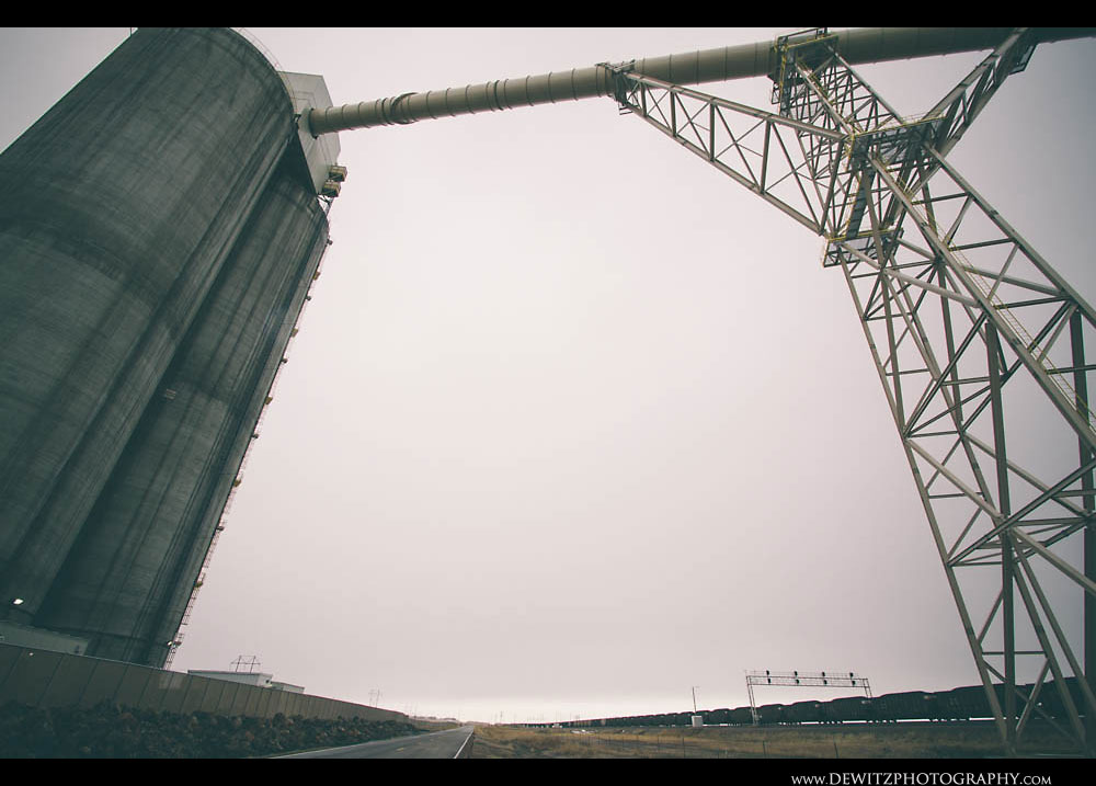 54The Black Thunder West Concrete Silos Tower Over the PRB
