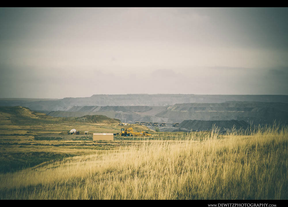 91Wyoming Grassland Open Pit Coal Mine