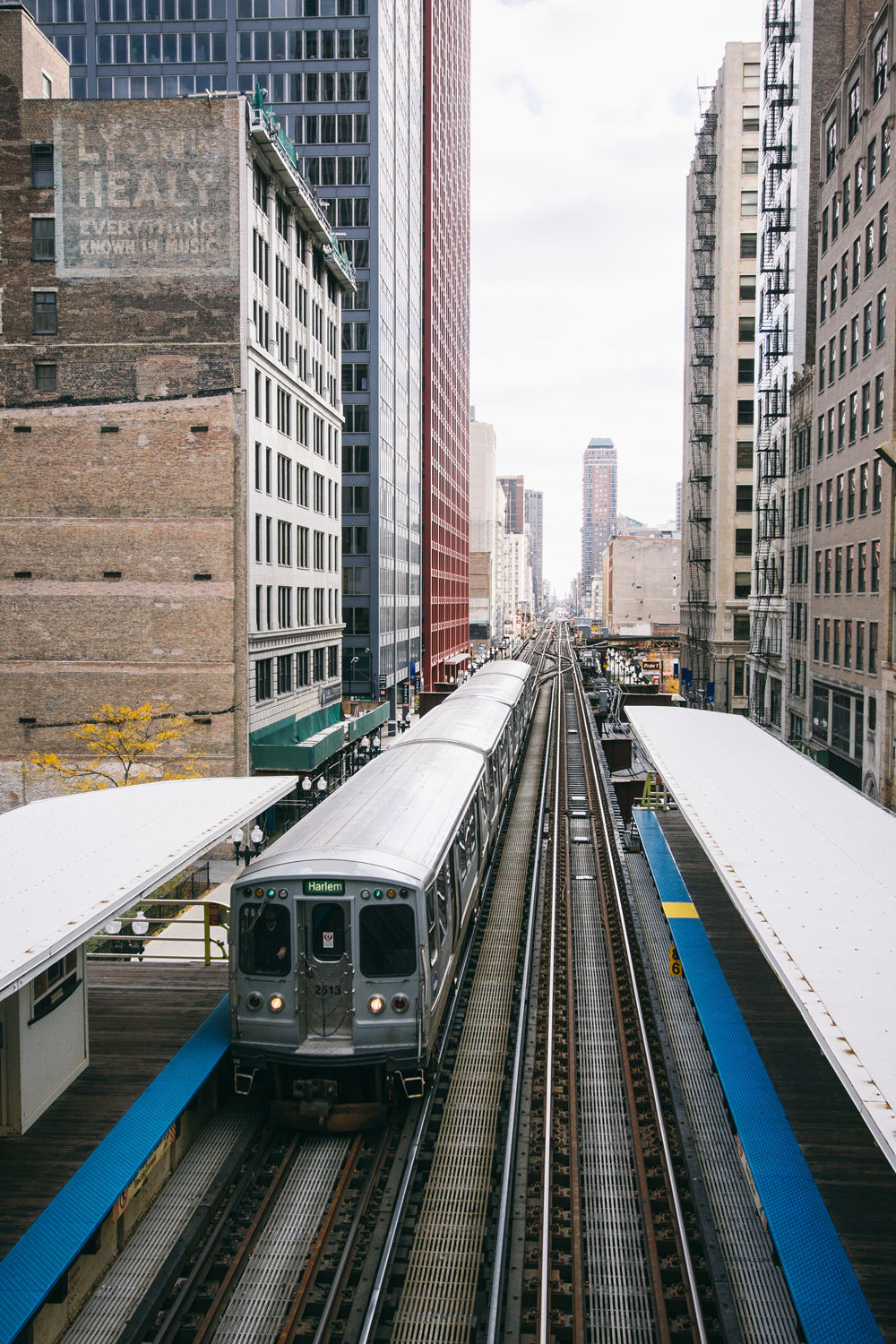 15Chicago Transit Authority L Train123