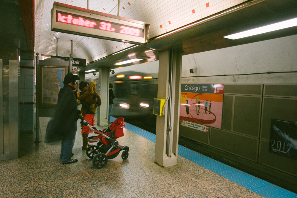 187Chicago Transit Authority L Train136