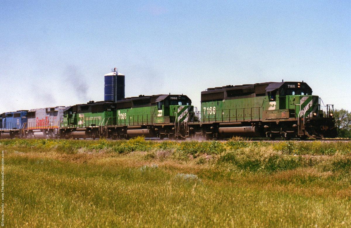 Burlington Northern North Dakota