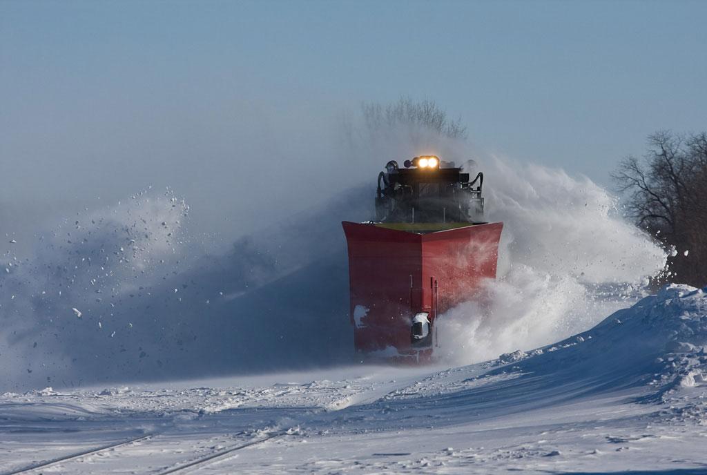 Nick Benson Train Snow Plow