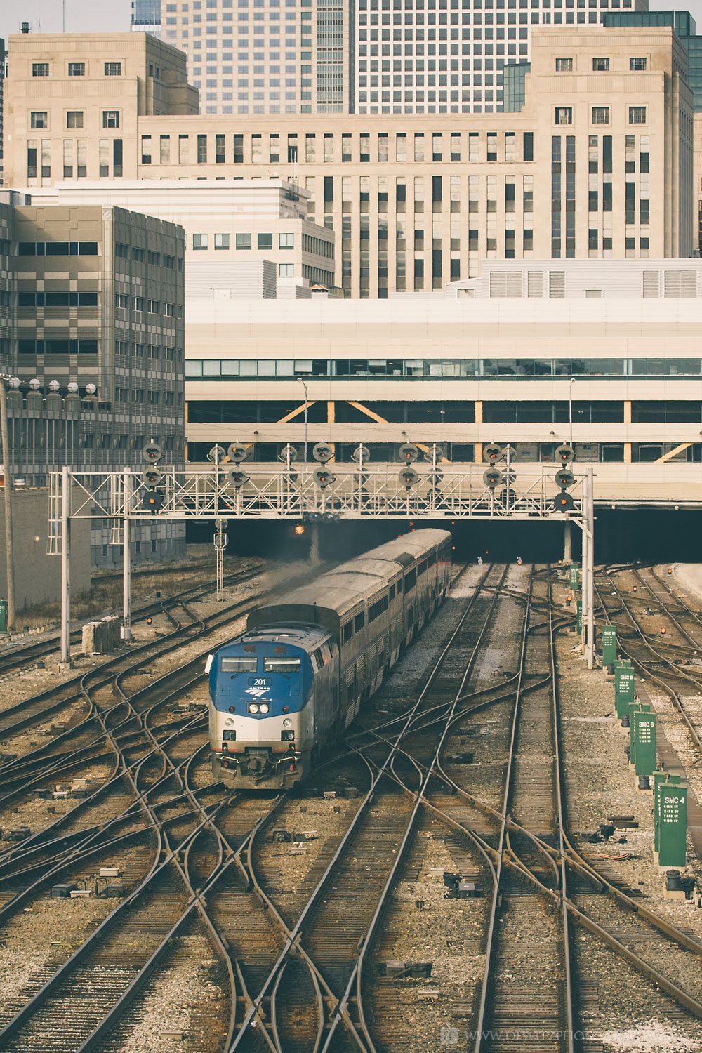 The Infrastructure that Feeds Chicago Union Station - Amtrak Complex Switch and Track Layout