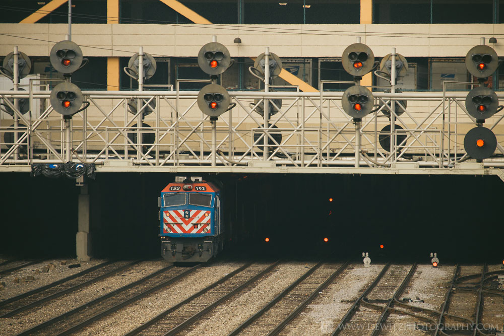 The Infrastructure that Feeds Chicago Union Station - Metra Powers Out of the Shadows