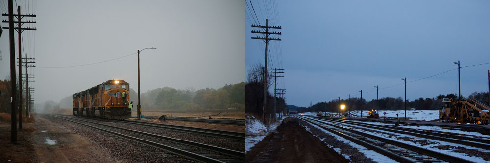 Union Pacific Yard Before and After