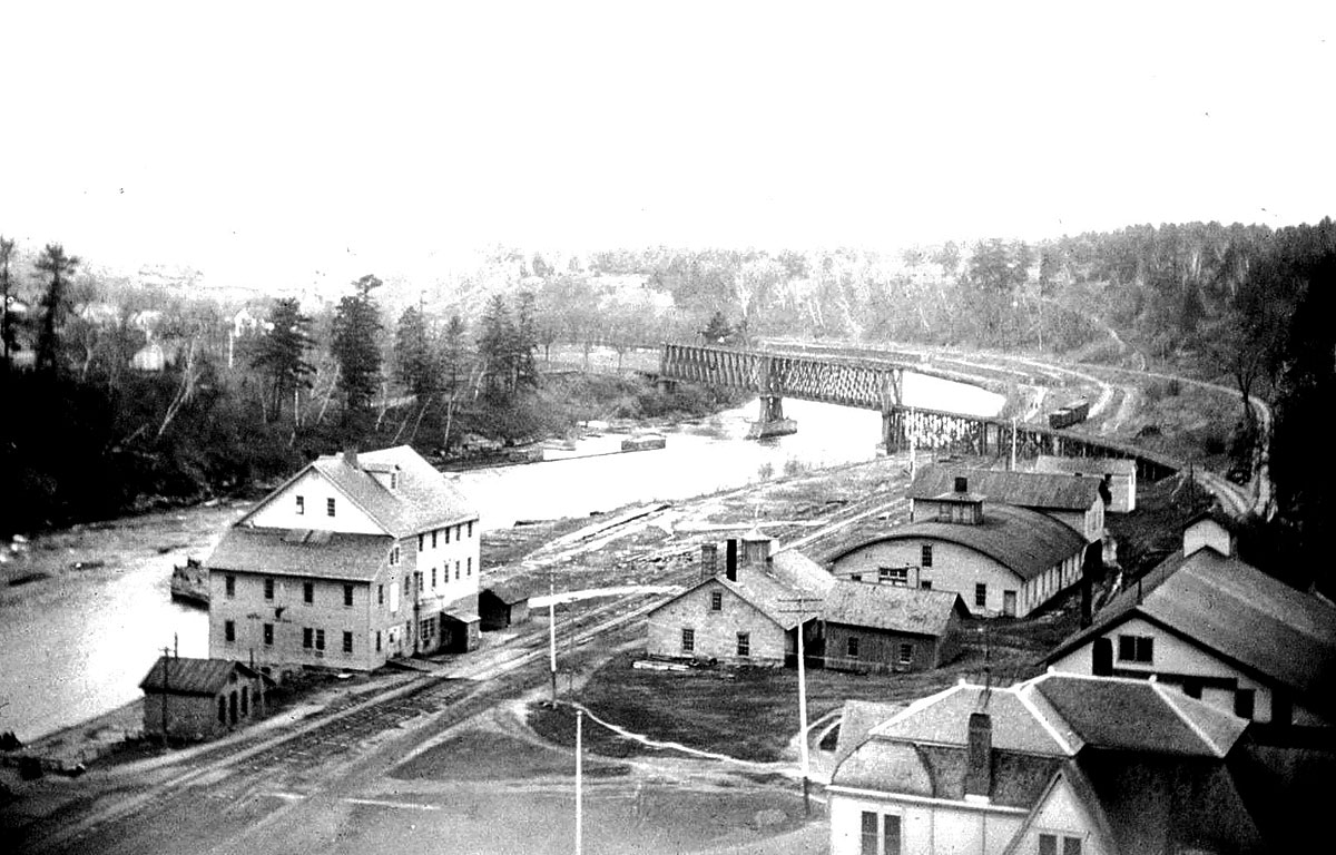 Historic Menomonie Wis Mill
