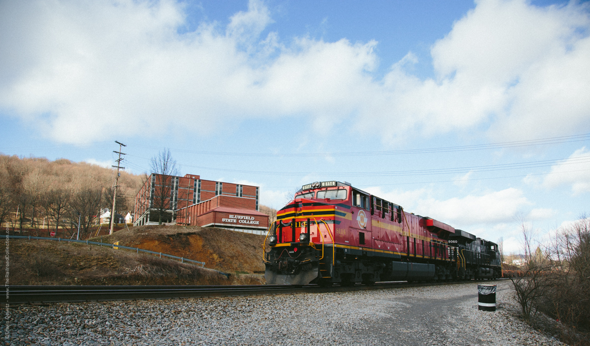 Norfolk Southern 8114 - Bluefield, WV