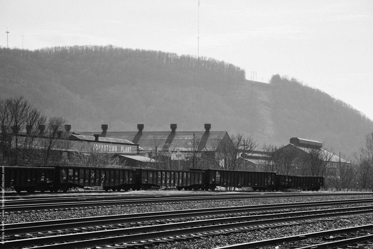 cambria-steel-company-johnstown-plant-ns-yard-gondolas-franklin-pa-3589