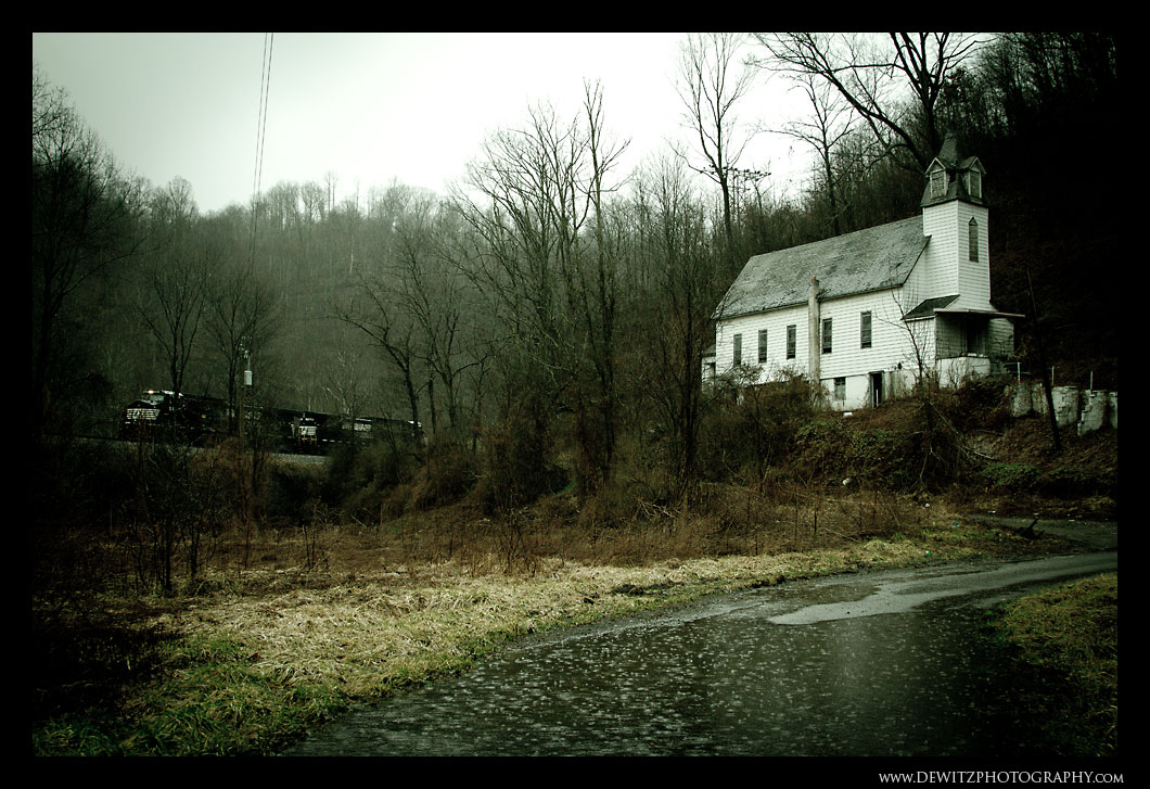Abandoned Church in Switchback WV