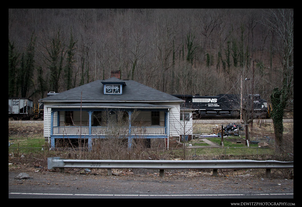 Abandoned Home in Upland WV